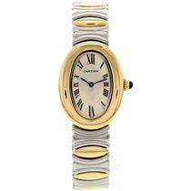 Cartier Baignoire 18K Yellow Gold & SS 3485