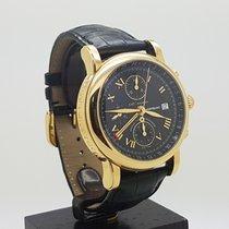 Montblanc 18K Meisterstuck Star GMT Chronograph Ref 7139 42MM