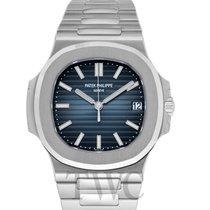 파텍필립 (Patek Philippe) Nautilus Black-blue/Steel 40mm -...