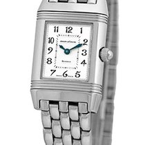 "Jaeger-LeCoultre Lady's Stainless Steel  Diamond ""Reve..."