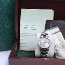 Rolex Day Date President 118209 White Gold Roman Dial Oyster Band