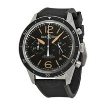 Bell & Ross Vintage Sport Heritage Black Dial Automatic...