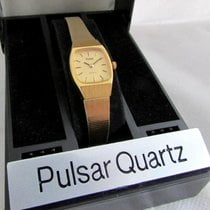 Pulsar gold plated small and thin