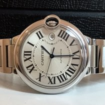 Cartier Ballon Bleu Extra Large White Dial 42mm Impecavel...
