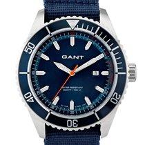 Gant W70632 Seabrook Military blau Herren 45 mm 10 ATM