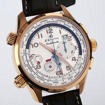 Zenith Pilot Doublematic Roségold Limited Edition NEU