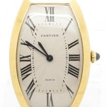 Cartier Paris Ladies Solid 18k Yellow Gold Watch Manual Winding
