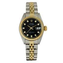 Rolex Datejust Lady Diamond Dial Gold/Steel 6917