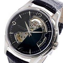 해밀턴 (Hamilton) ジャズマスター オープンハート 自動巻き 腕時計 H32565735
