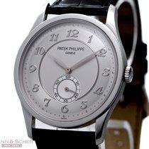 Patek Philippe CALATRAVA Ref-5196P-001 950 Platinum Box Papers...