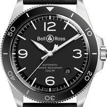 Bell & Ross Vintage BR V2-92 Black Steel  BRV292-BL-ST/SCA