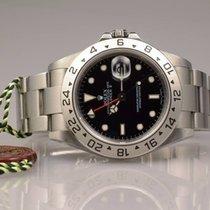 Rolex Explorer II 16570 Stahl V-Serie mit Rehaut unpoliert  2010