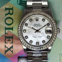 Rolex Datejust Stainless Steel MOP Diamond Dial/Bezel 31mm...
