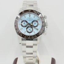Rolex Daytona 116506 Ice Blue Dial Ceramic Bezel Box &...