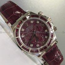 Rolex - Daytona 116589SALV Diamond Bezel Red Dial WG