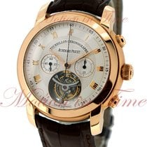 Audemars Piguet Jules Audemars Tourbillon Chronograph, Silver...