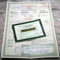 Rolex vintage 1960 warranty guarantee and certificate chronometre