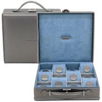 Friedrich Uhrenbox Carbon grau für 12 Uhren 70021/303
