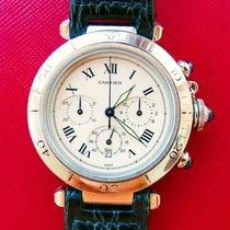 Cartier Pasha 38mm Extravaganter Hochfeiner Herren Chronograph