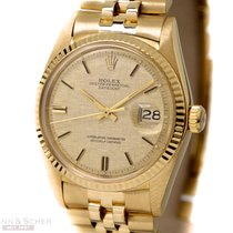 Rolex Vintage Datejust 18K Yellow Gold Ref-1601 Bj-1972