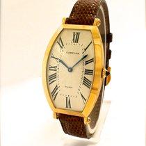 Cartier Tonneau in Oro Giallo 18 kt degli Anni '80-90