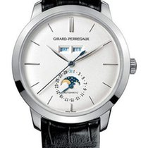 Girard Perregaux 1966 Full Calendar Platinum Men's Watch