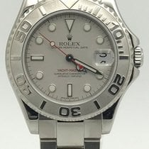 Rolex Yacht Master Mid-size 35mm 168622 Platinum Dial And...