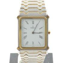 Ebel Classiv Wave Carree Herren Uhr Stahl/750 Gold 30mm Sportwave