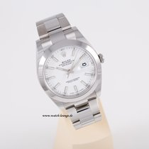 Rolex Datejust 41 white index perfect condition LC 100 box papers