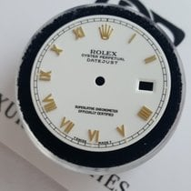 Rolex Dial Zifferblatt Date just white factory 36mm gold numbers
