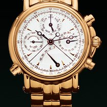 Paul Picot COLLECTION TECHINCUM Yellow Gold-Silver Dial Gold...