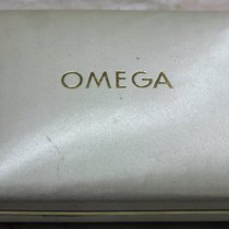 Omega rare vintage watch box white for man's  watches
