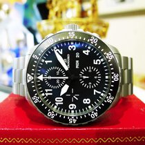 Damasko Dc66 Pilot Stainless Steel Day Date Chronograph...