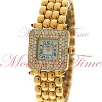 Chopard Classic Ladies, White Dial, Diamond Bezel - Yellow...