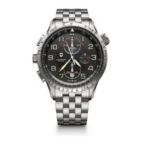 Victorinox Swiss Army Airboss Match 9 grey dial, steel...