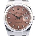 Rolex Oyster Perpetual Date Stahl 34mm Ref. 115200