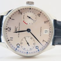 IWC Portuguese 7 Days Power Reserve Blue (Full Set Box&Pap...