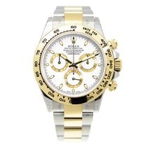 勞力士 (Rolex) Cosmograph Daytona Gold And Steel White Automatic...