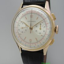 Longines Chronograph 30CH Vintage 1950 -Ros?Gold 18k/750