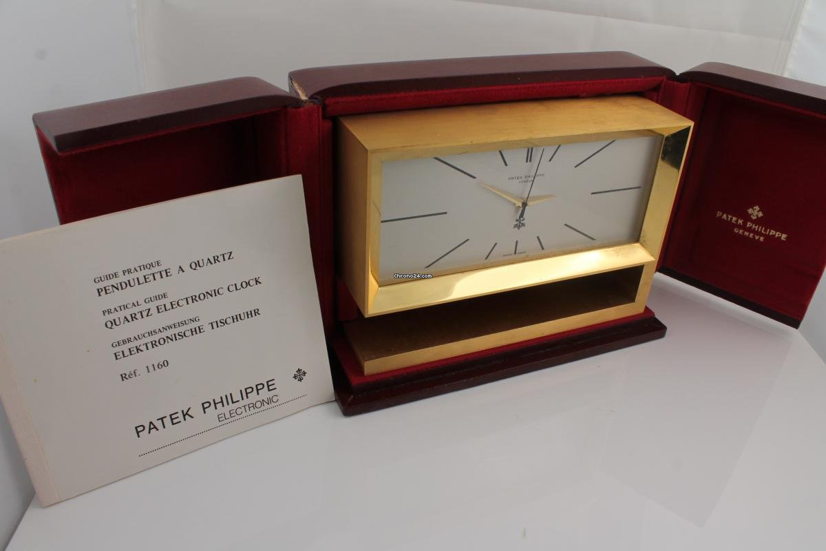 Tischuhr Design patek philippe tischuhr quartz ref 1160 for price on request for