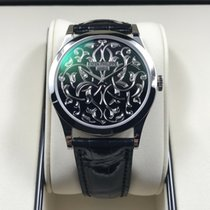 Patek Philippe 5088/100P-001 950PT Platinum Men Black Enamel...