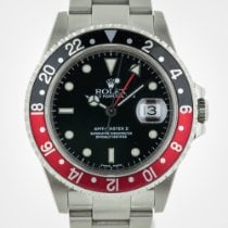 Rolex GMT Master II, 16710, Stainless Steel, Red and Black...