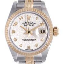 Rolex Ladies Rolex Datejust Watch 69173 Rolex Ivory Jubilee Dial