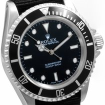 Rolex 1990's Steel 40mm No-Date Submariner Black NATO Strap