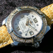Breitling Cockpit Lady D71356 Stahl Gold With Diamond