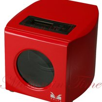 Volta Moderna Collection Single Watch Winder - Red Finish with...