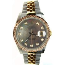 Rolex Datejust Mens Model 16013 Steel and Gold Jubilee Band...