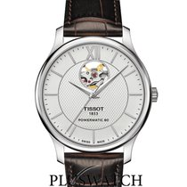Tissot Tradition Automatic Open Heart Silver Dial 40mm