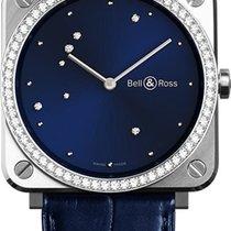 Bell & Ross BR S Diamond Eagle Diamonds BRS-EA-ST-LGD/SCR