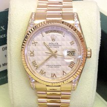 Ρολεξ (Rolex) Day-Date 118338 - Factory Set Diamonds Serviced...
